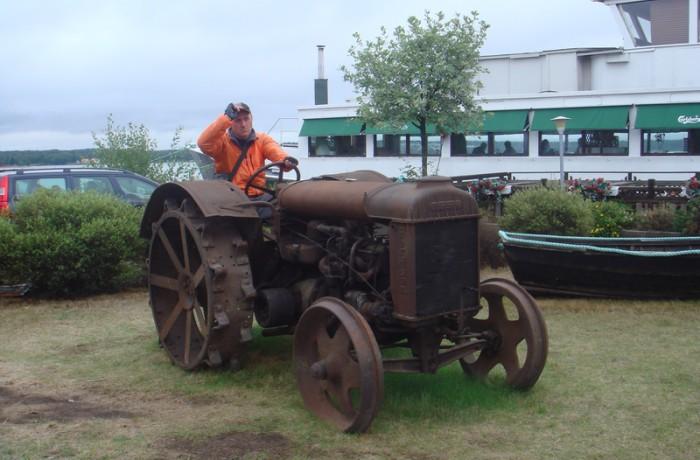Достопримечательности-трактор