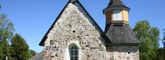 Церковь святой Анны, Кумлинге церковь. Saint Anna's Church, Kumlinge