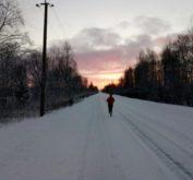 "49-й международный зимний марафон ""Дорога жизни"""